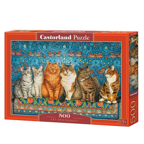 Cuy Games - 500 PIEZAS - CAT ARISTOCRACY -