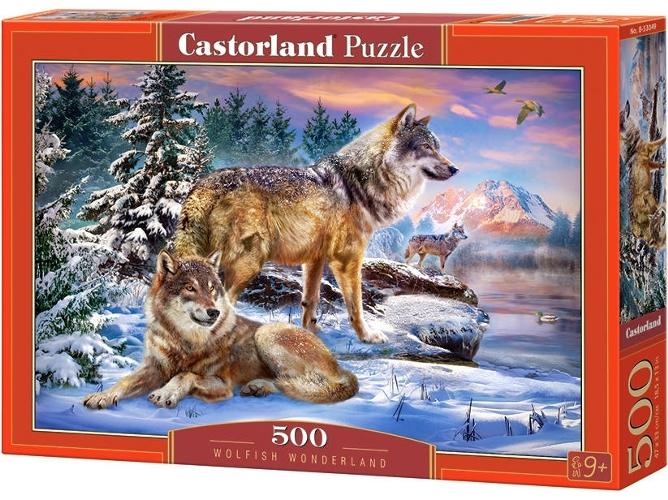 Cuy Games - 500 PIEZAS - WOLFISH WONDERLAND -