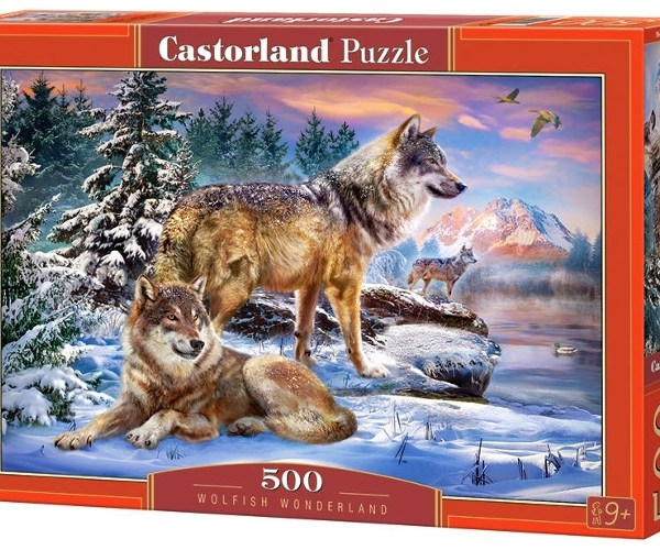 500 PIEZAS – WOLFISH WONDERLAND