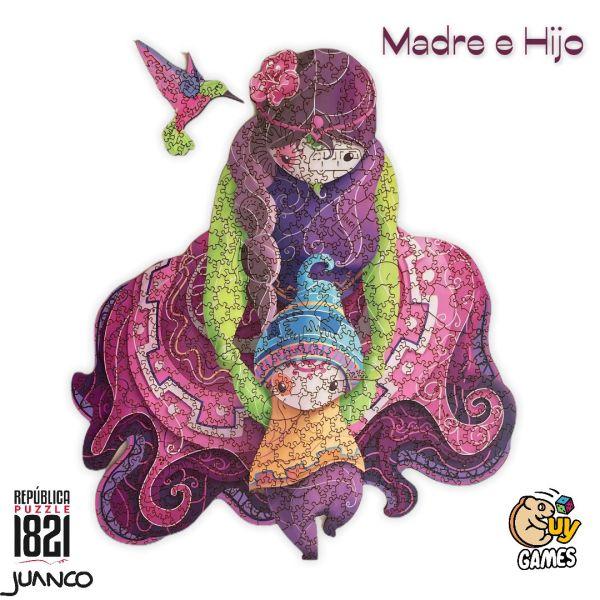 Cuy Games - 500 PIEZAS - MADRE E HIJO -
