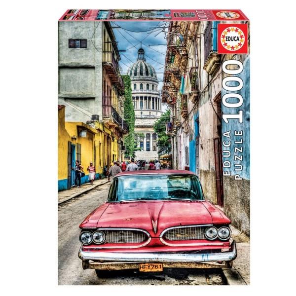 Cuy Games - 1000 PIEZAS - COCHE EN LA HABANA -