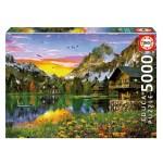 Cuy Games - 5000 PIEZAS - LAGO ALPINO -