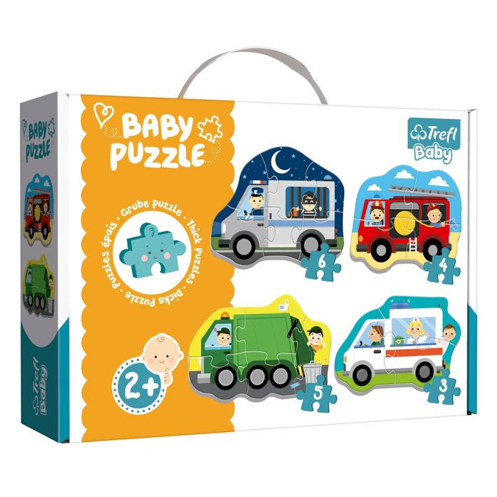Cuy Games - INFANTIL - BABY PUZZLE - TRANSPORTES -