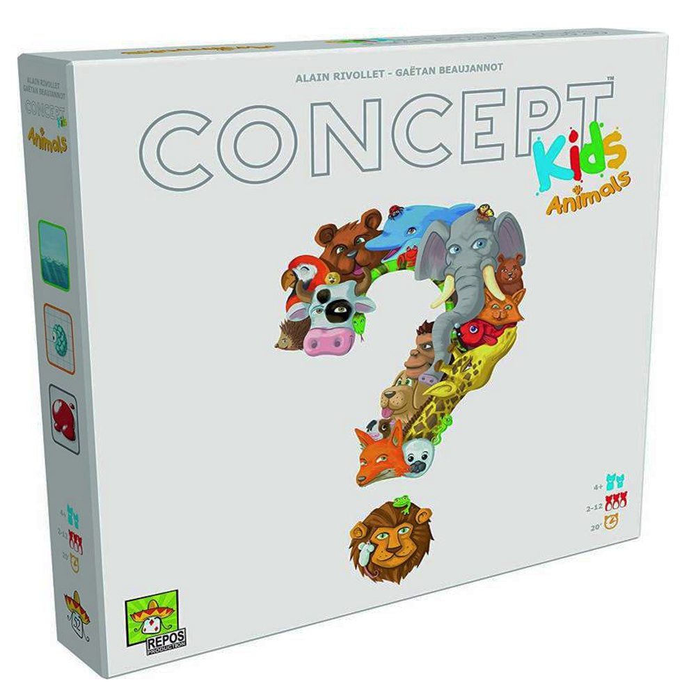 Cuy Games - CONCEPT KIDS ANIMALES -