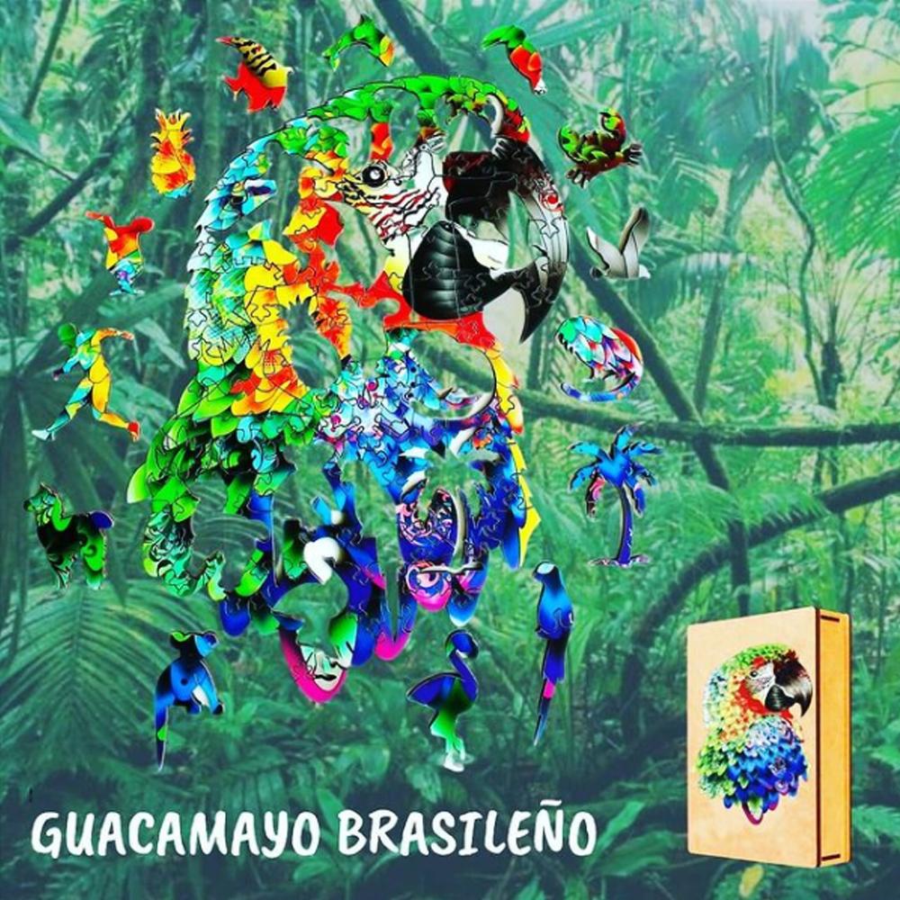 Cuy Games - LORO COLORIDO - MADERA -