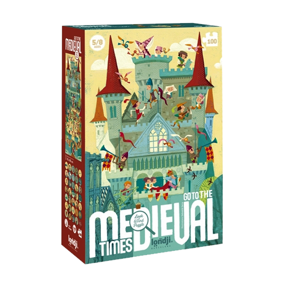 Cuy Games - 100 PIEZAS - GO TO THE MEDIEVAL TIMES -