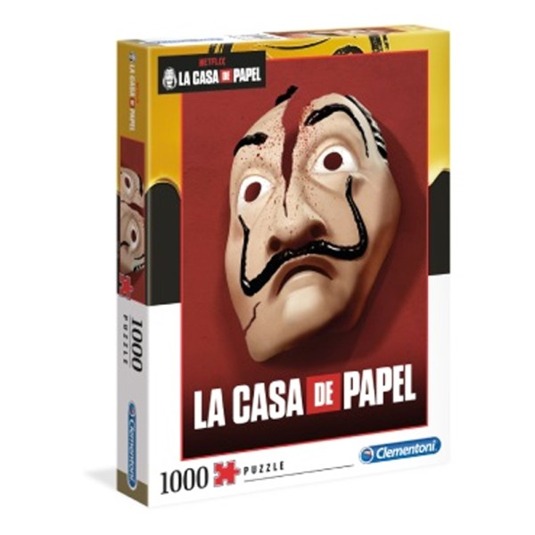 Cuy Games - 1000 PIEZAS - MASCARA LA CASA DE PAPEL -