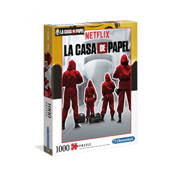Cuy Games - 1000 PIEZAS - MONEY LA CASA DE PAPEL -