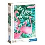 Cuy Games - 500 PIEZAS - FLAMINGOS -