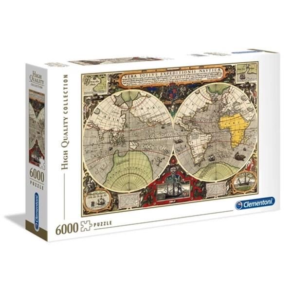 6000 PIEZAS – ANTIQUE NAUTICAL MAP