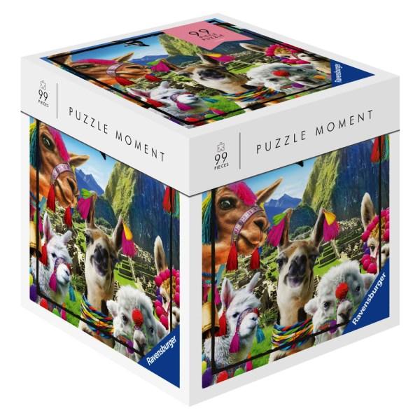Cuy Games - 99 PIEZAS - PUZZLE MOMENT - LLAMITAS -