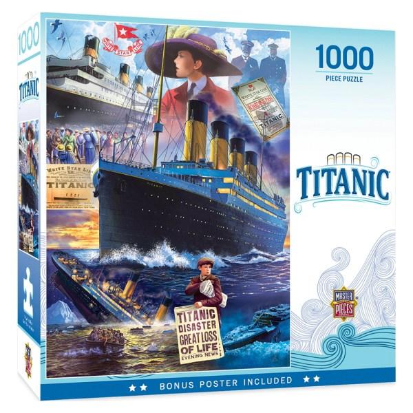 1000 PIEZAS – TITANIC COLLAGE
