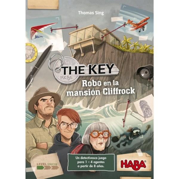 Cuy Games - THE KEY: ROBO EN LA MANSION CLIFFROCK -