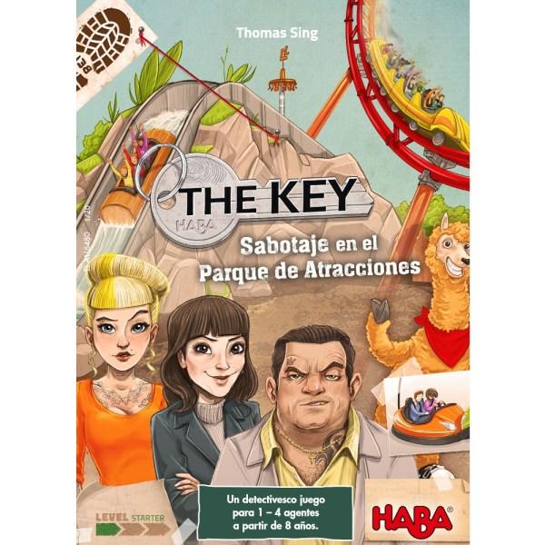 Cuy Games - THE KEY: SABOTAJE EN EL PARQUE DE ATRACCIONES -