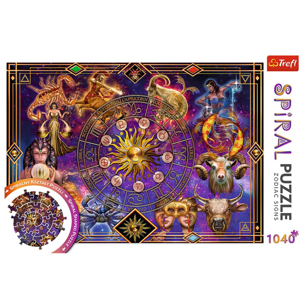 Cuy Games - 1040 PIEZAS - SIGNOS DEL ZODIACO -