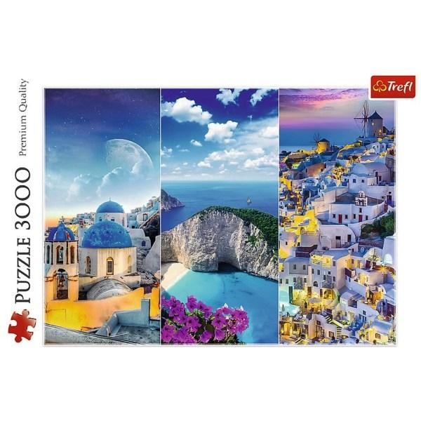3000 PIEZAS – GREEK HOLIDAYS