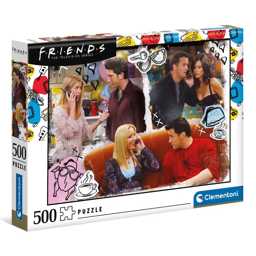 Cuy Games - 500 PIEZAS - FRIENDS -