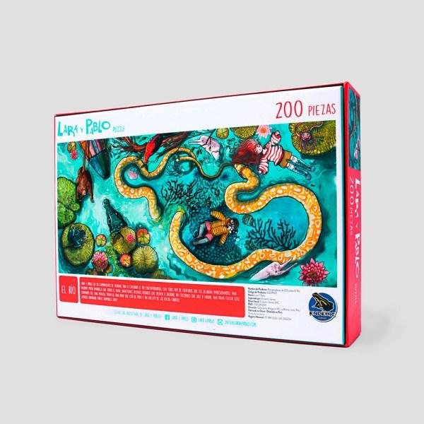 200 PIEZAS – LARA Y PABLO PUZZLE