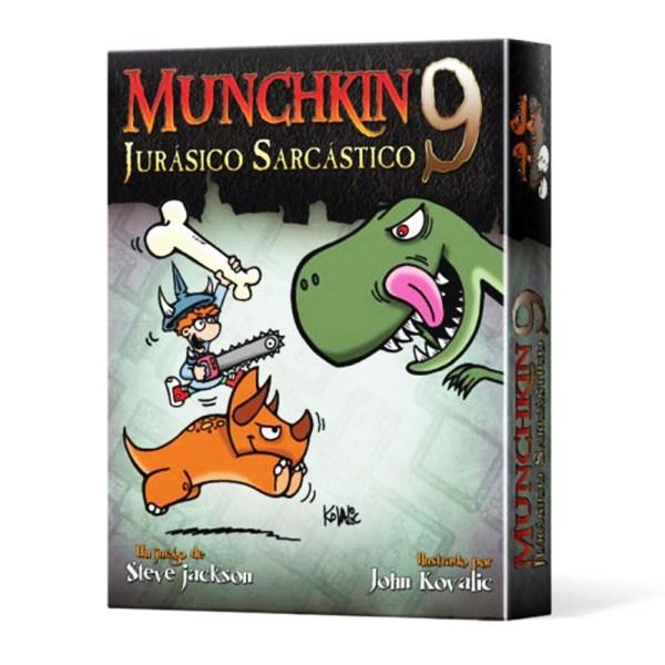 MUNCHKIN 9: JURASICO SARCASTICO