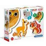 Cuy Games - INFANTIL - MI PRIMER PUZZLE - ANIMALITOS -