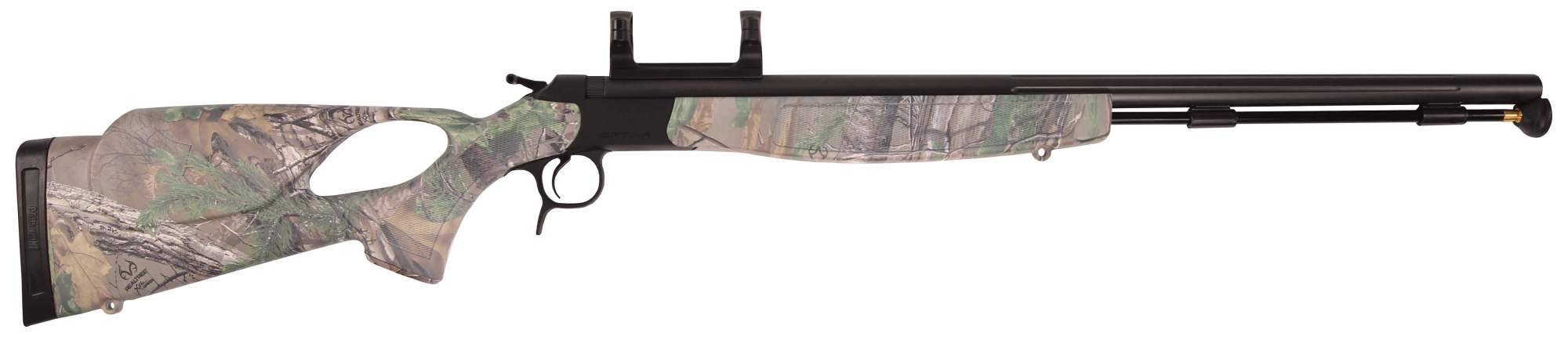 hight resolution of optima v2 stainless steel nitride with thumbhole camo realtree xtra green stock