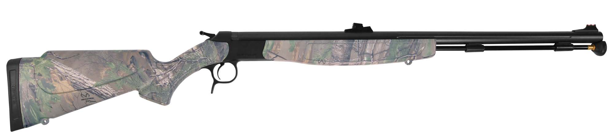 hight resolution of optima v2 nitride stainless steel realtree xtra green camo with fiber optic sights