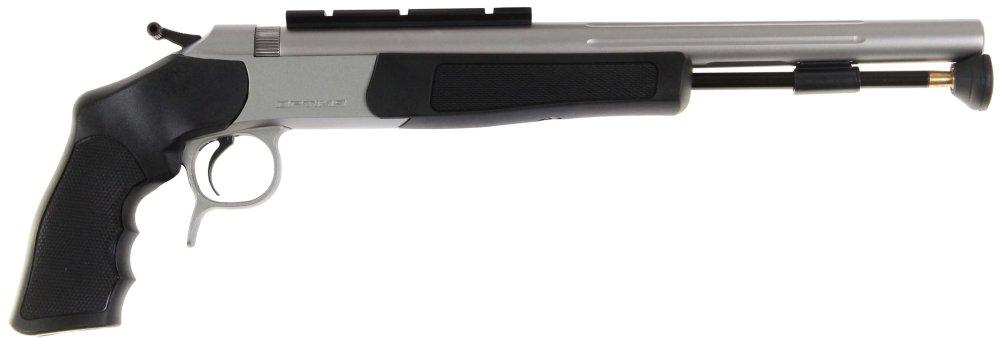medium resolution of optima v2 pistol stainless steel with black stocks