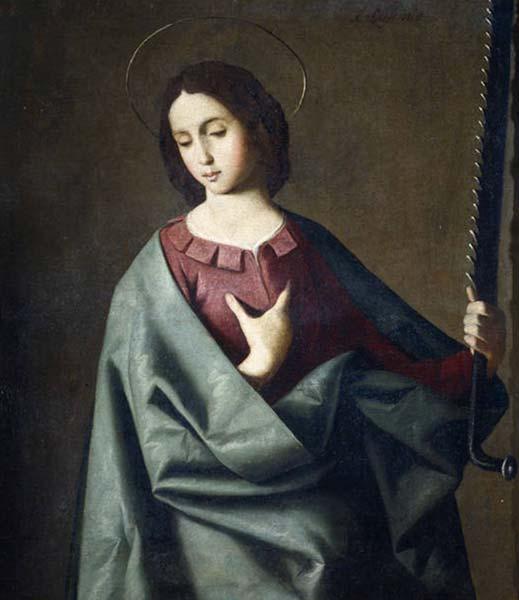Image result for santa eufemia francisco de zurbaran