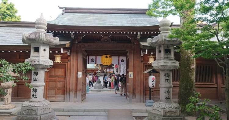【遊記】北九州景點-櫛田神社-[日本][北九州]