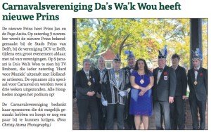 Nieuwe Prins CV DasWakWou