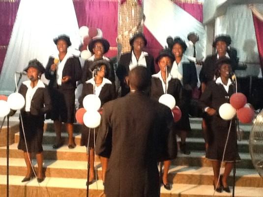 Choir Presentation at the Convention