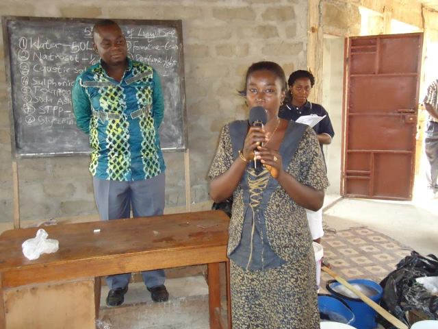 Mrs. Mamunatuke testifying
