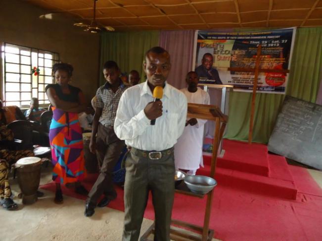 Mr. Nathaniel testifying