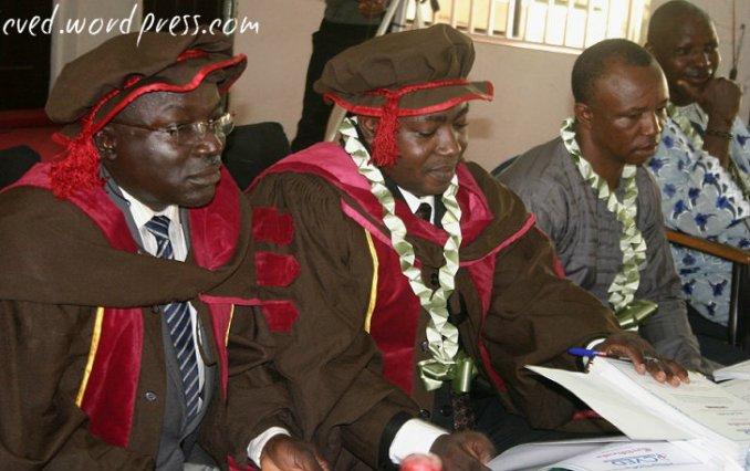 L-R: Dr. Yongo (Partners Worldwide),Pastor Jide Esan (Dominion Faith Int'l Church), Prince Saviour Iche (President, Association of Micro Entrepreneurs of Nigeria – AMEN), Chief Oladele Alonge (Baale, Omila-Alawode)