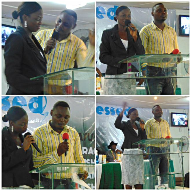 The Anchors - Bro. Kayode Aishida & Mrs. Oluwaseun Ajayi