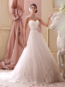 Spring wedding dress 2015 David Tutera