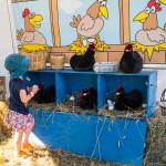 Collecting the eggs at the CVEX kidzone