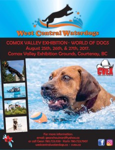 2017 West Central Waterdogs at World of Dogs, CVEX