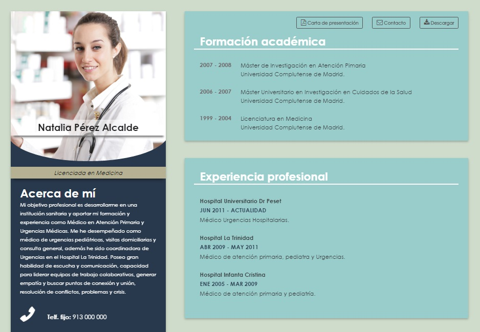 Curriculum Vitae Para Argentina Resume Pdf Download