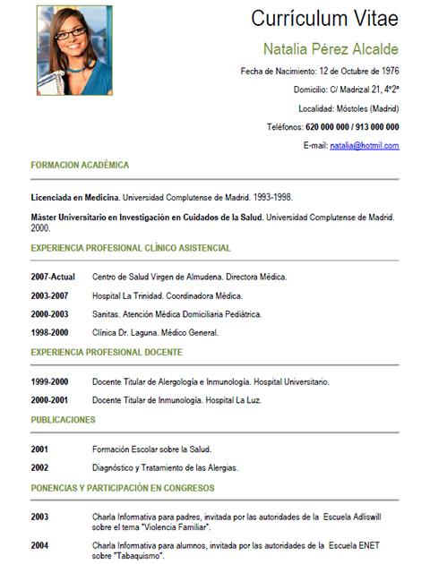 Ejemplo Curriculum Vitae Enfermera En Ingles Resume Tips For Mid