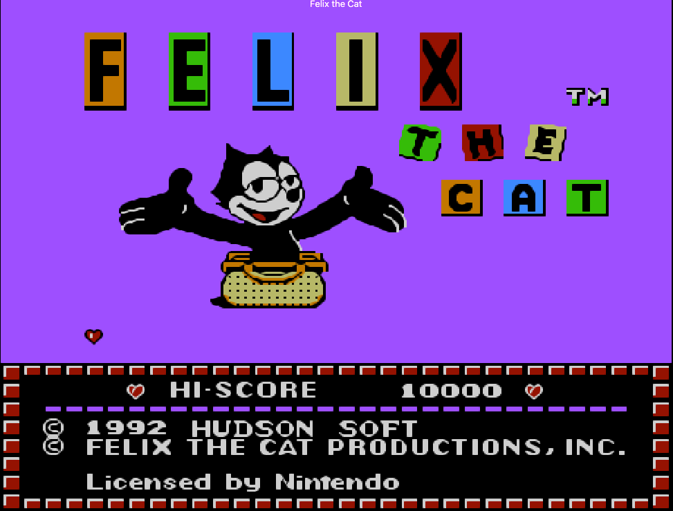 Trò Felix the Cat NES