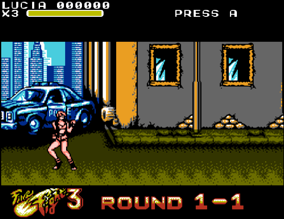 Trò Final Fight 3 NES
