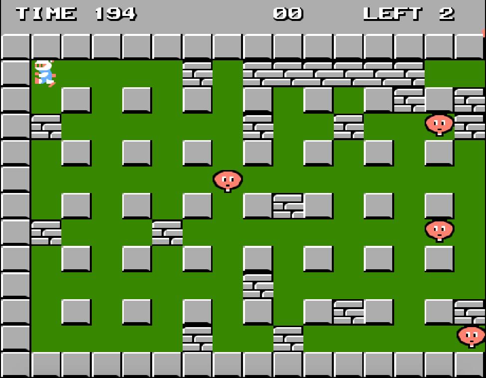 Bomberman nes game