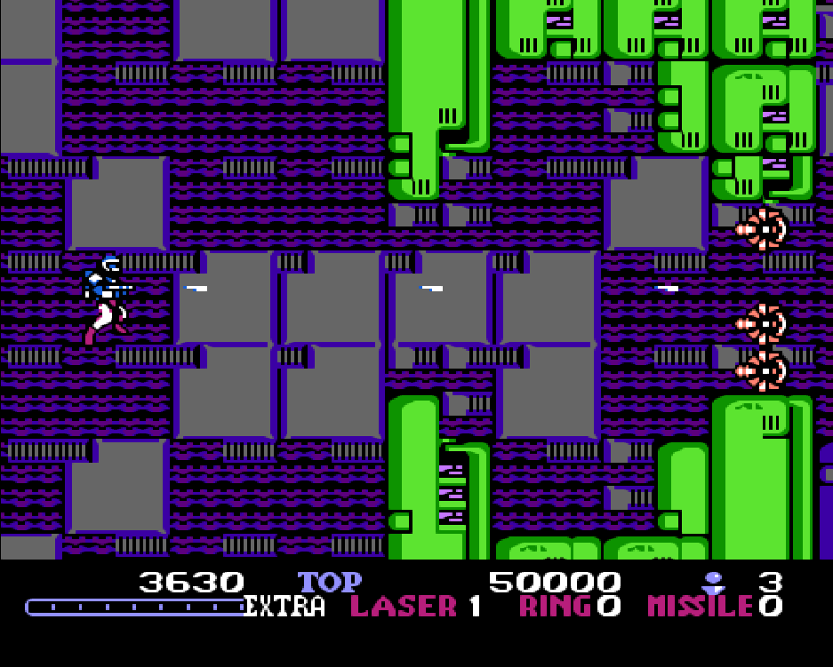 Burai Fighter Game NES phần 2