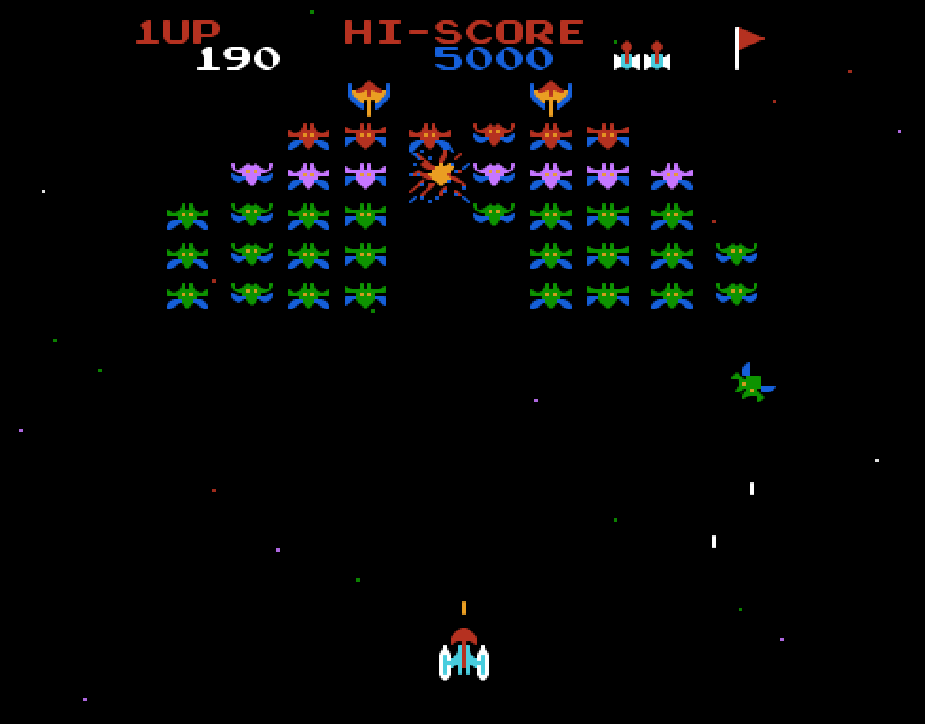 game galaxian