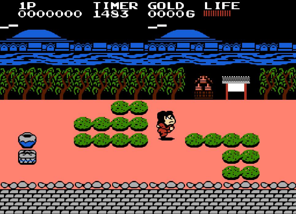 Game NES Ganbare Goemon