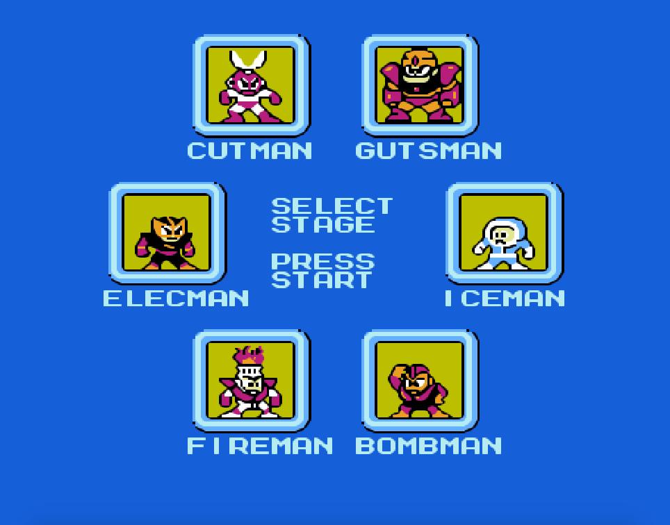 Game NES phần 11 MegaMan