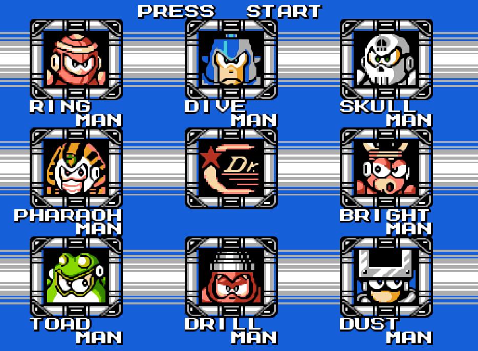 Game NES phần 11 MegaMan 4