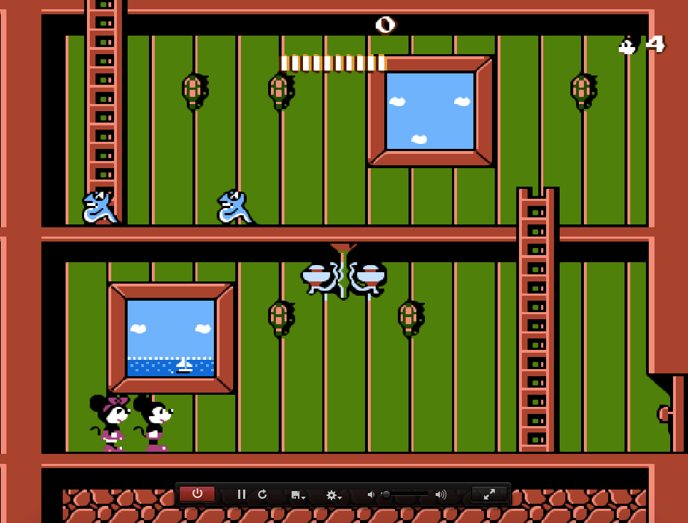 Game Mickey Mousecapade