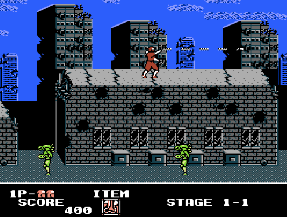 game NES phần 13 Ninja Crusaders